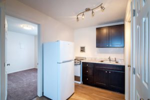 Central Crossing Student Housing Kitchen