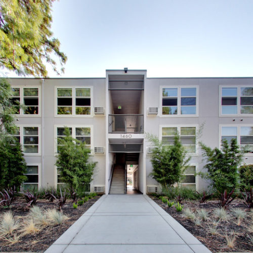 Exterior of The Post Apartments in Pleasant Hill, CA – PTLA property